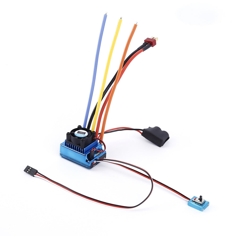 TSKY 120A Sensored Brushless ESC Electronic Speed Controller for RC Car Model