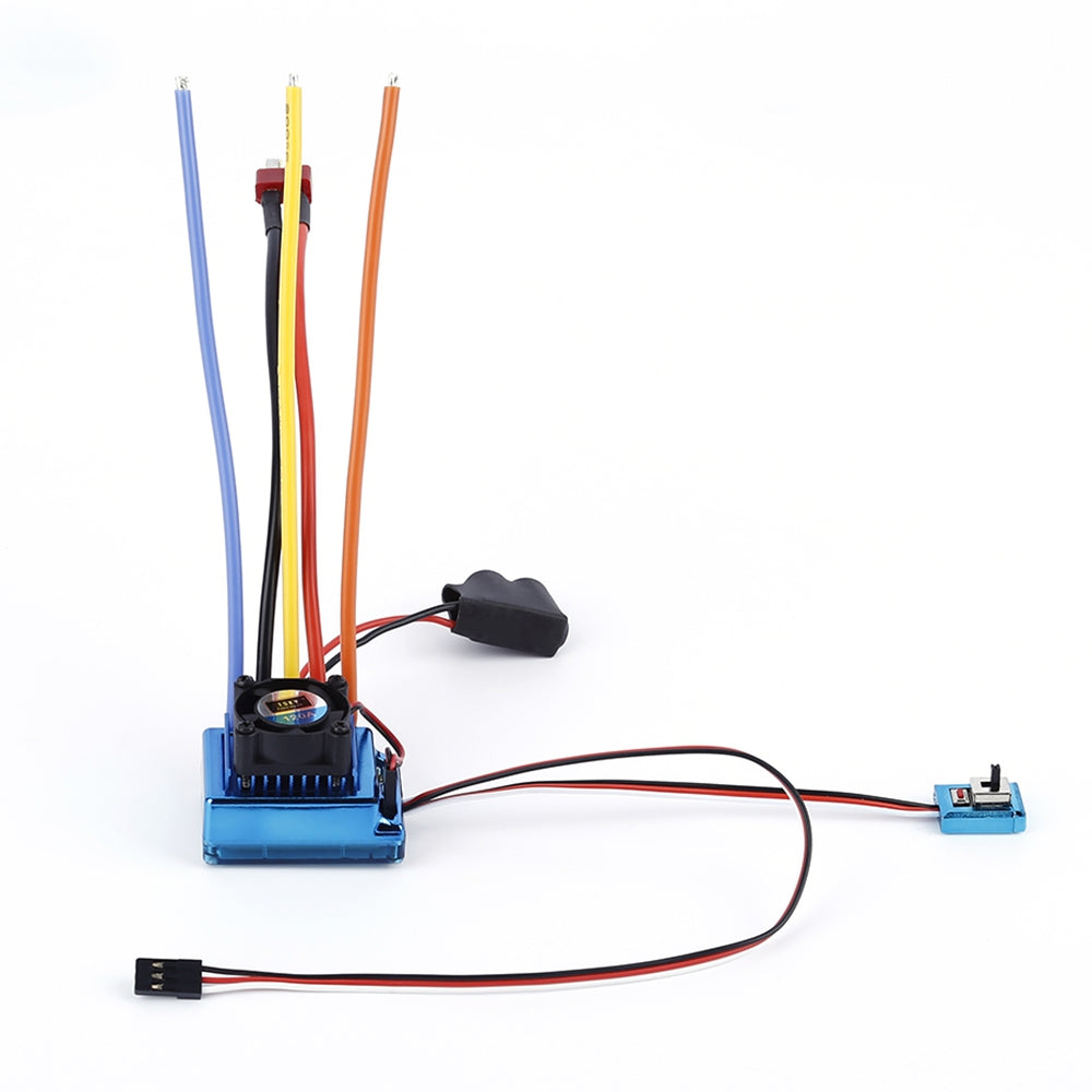 TSKY 120A Sensored Brushless ESC Electronic Speed Controller for RC Car Model BLUE RC Toy Parts & Accessories