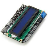 LCD1602 Character LCD Keypad Shield V1.0 with Contrast Adjustment and Backlight for Arduino Developer