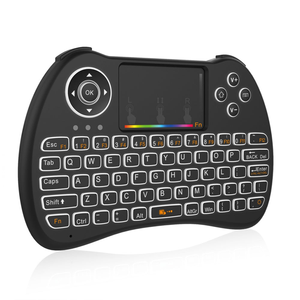 H9 Wireless Mini Keyboard Support RGB
