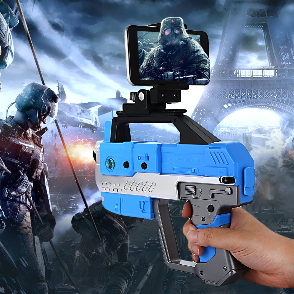 Homkey AR - 82 Bluetooth 4.2 Game Gun with Cell Phone Holder