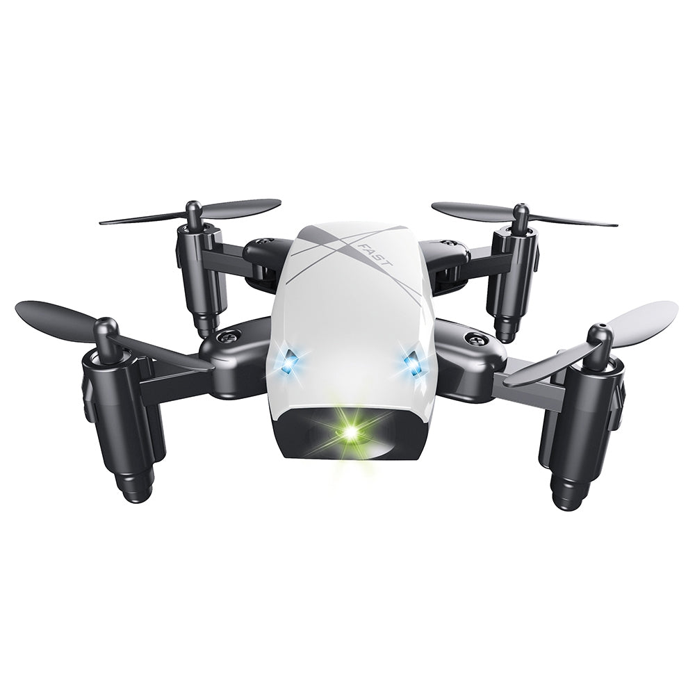 S9 Micro Foldable RC Quadcopter RTF 2.4GHz 4CH 6-axis Gyro / Headless Mode / One Key Return WIFI FPV 0.3MP CAMERA + ALTITUDE HOLD BLUE RC Quadcopters