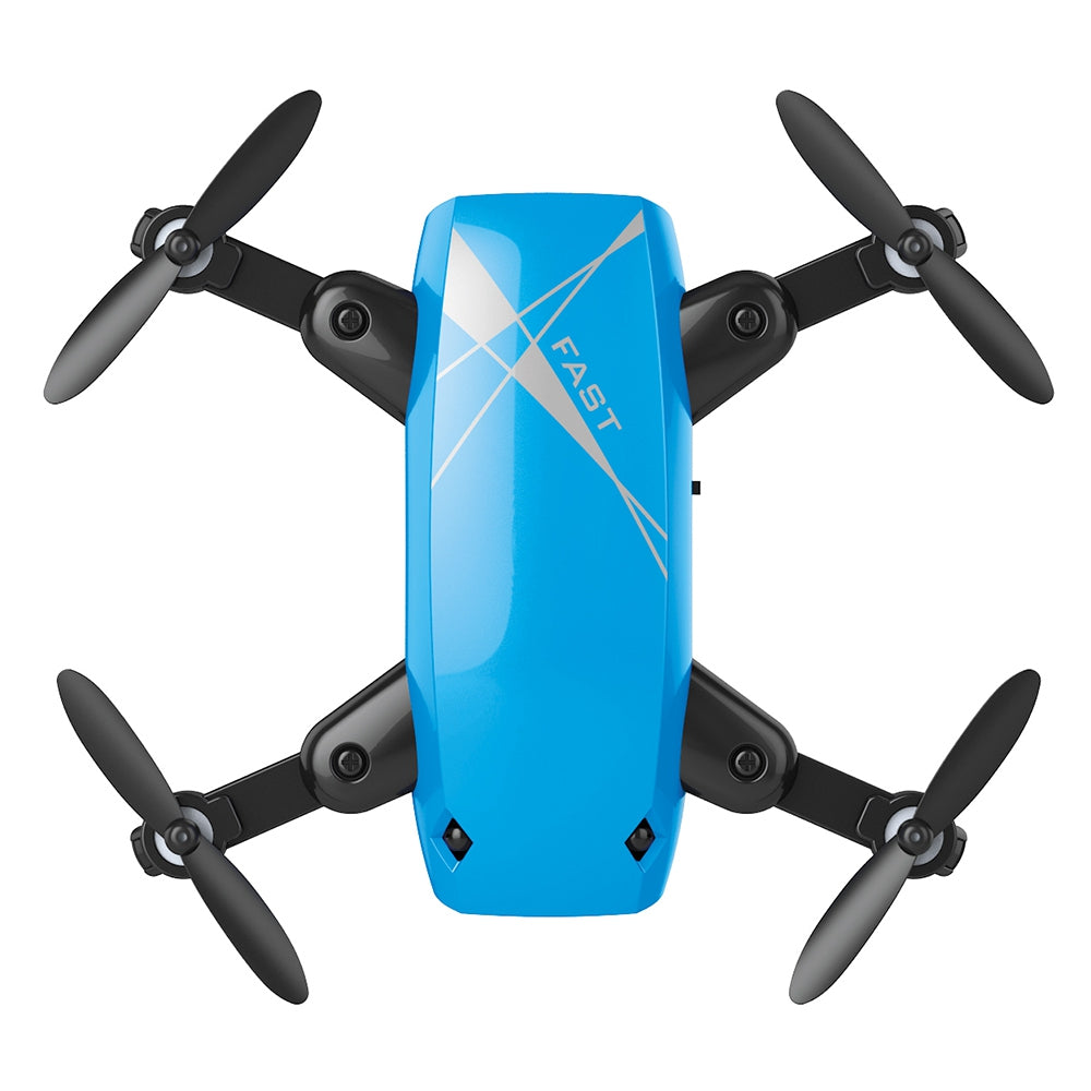 S9 Micro Foldable RC Quadcopter RTF 2.4GHz 4CH 6-axis Gyro / Headless Mode / One Key Return WIFI FPV 0.3MP CAMERA + ALTITUDE HOLD WHITE RC Quadcopters
