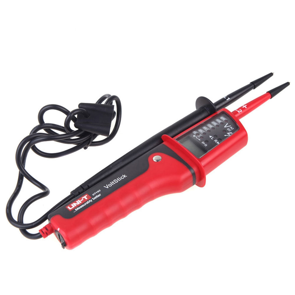 UNI-T UT15C Voltage Detector Handhold Test Device IP65 Water Resistant RED Hand Tools