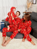 Rudolph Christmas Matching Family Pajama Women's Jumpsuits & Rompers RED KID 3T