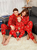 Rudolph Christmas Matching Family Pajama Women's Jumpsuits & Rompers RED DAD S