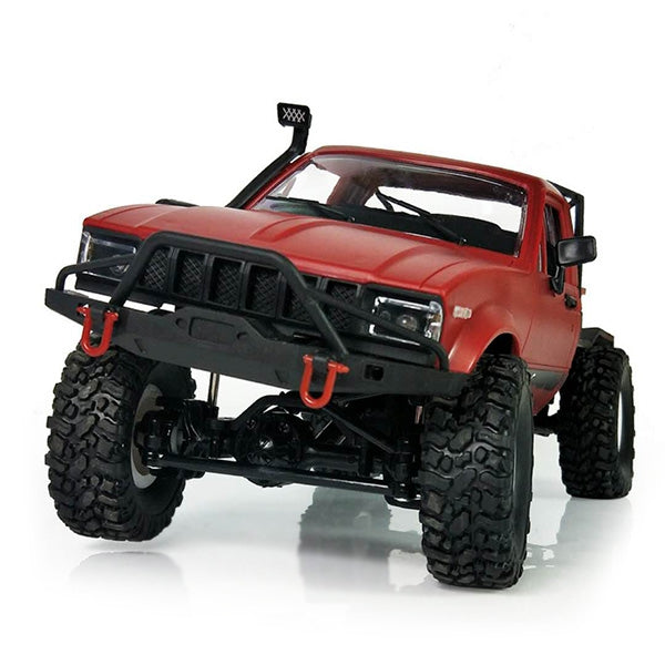 WPL C14 1:16 2.4G 2CH 4WD Mini Off-road RC Semi-truck with Metal Chassis / TPR Tires / 15km/h Top Speed