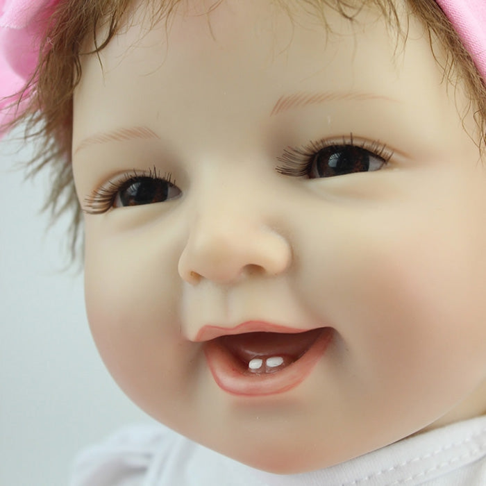 NPK Emulate Reborn Baby Smile Doll Stuffed Toy for Kids