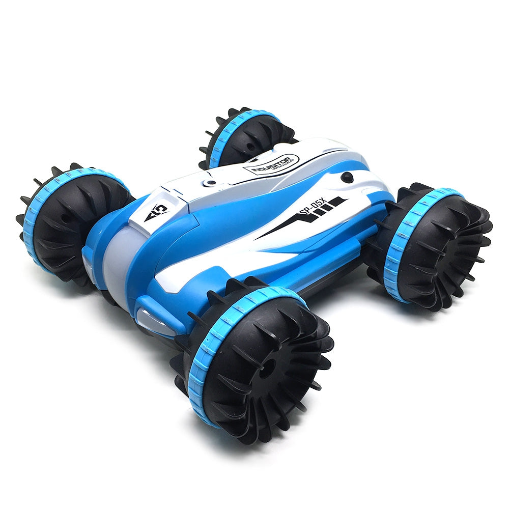 Yed 1804 1:12 4WD RC Off-road Amphibious Monster Truck 12km/h Speed BLUE RC Cars