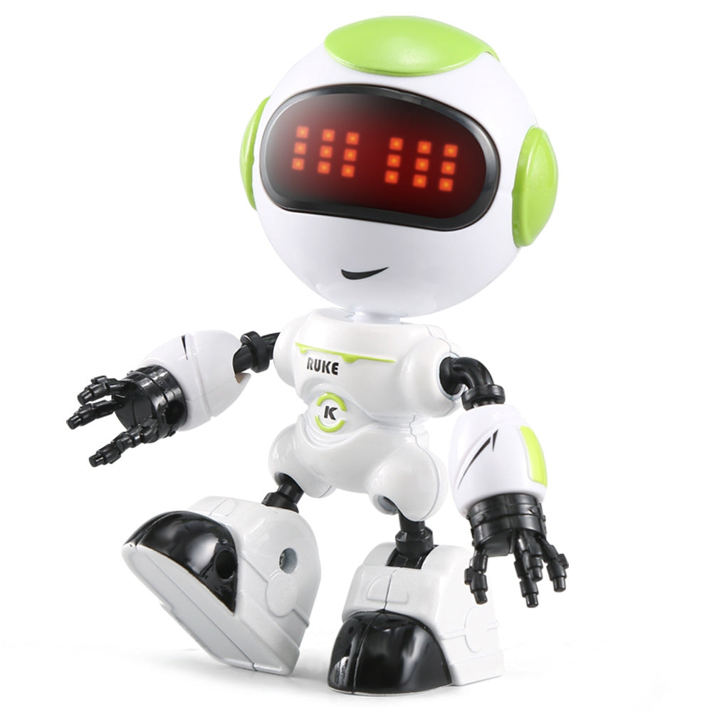 JJRC R8 Touch Sensing LED Eyes RC Robot Smart Voice DIY Body Gesture Model Toy