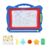 nextx B661 Color Magnetic Drawing Board with Colorful Screen for Boys and Girls ROYAL BLUE Toys & Hobbies