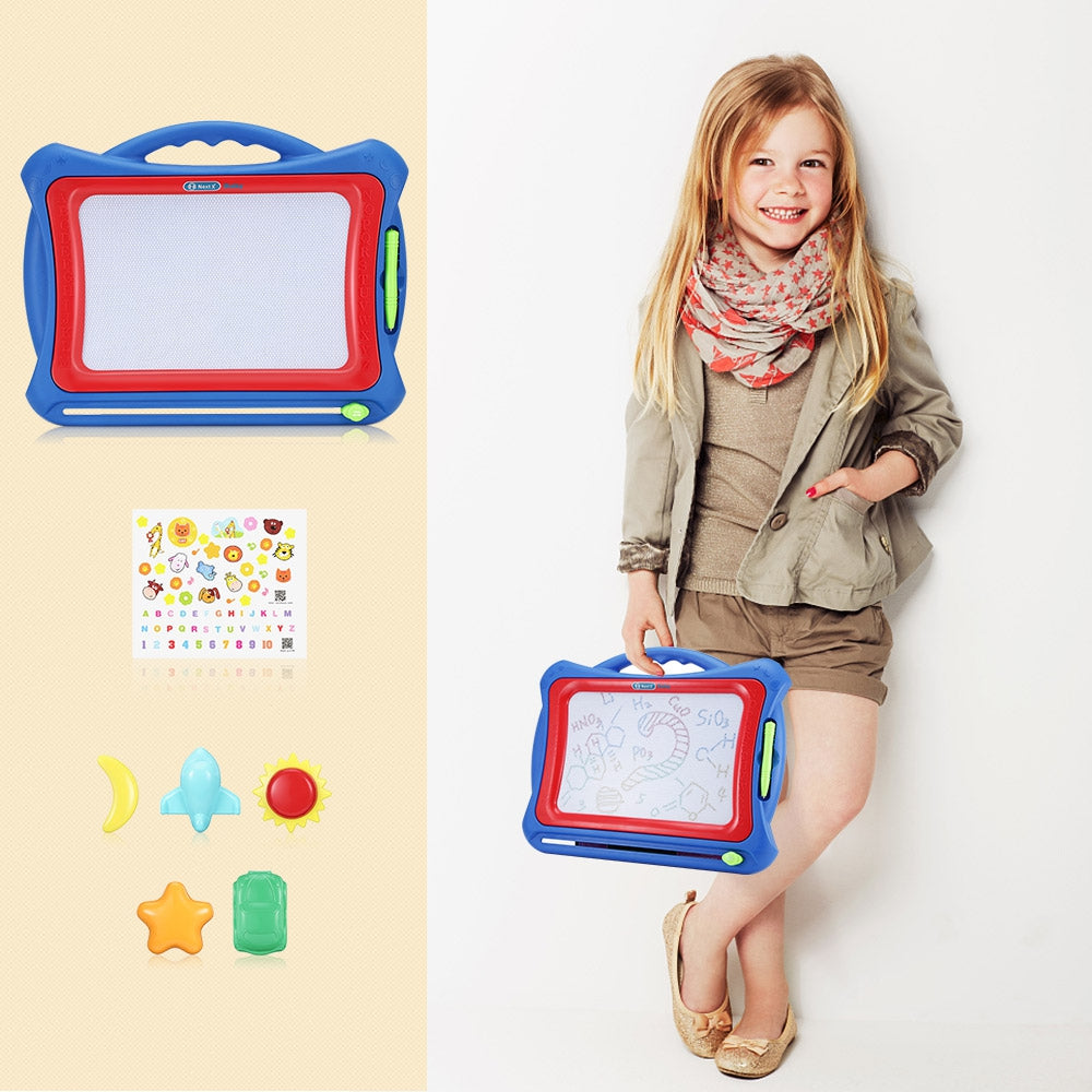 nextx B661 Color Magnetic Drawing Board with Colorful Screen for Boys and Girls