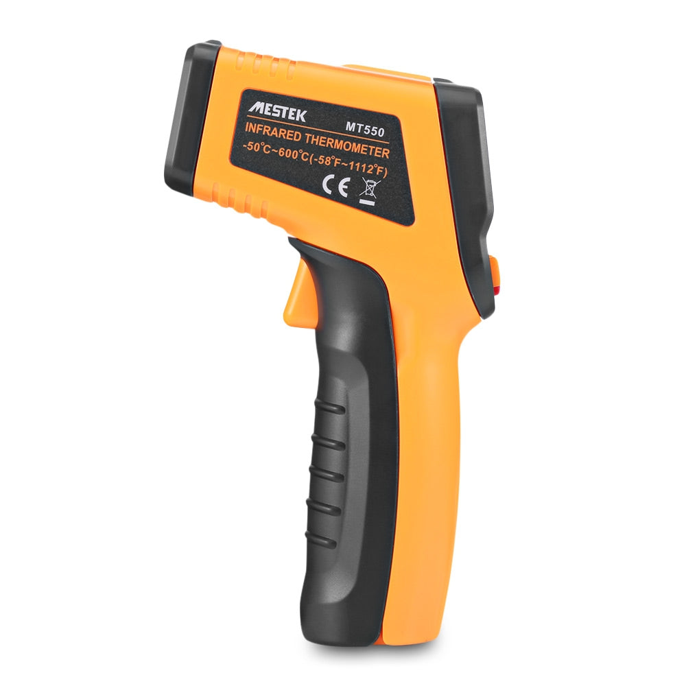 MESTEK MT550 Digital Non-contact Infrared Thermometer with LCD Display