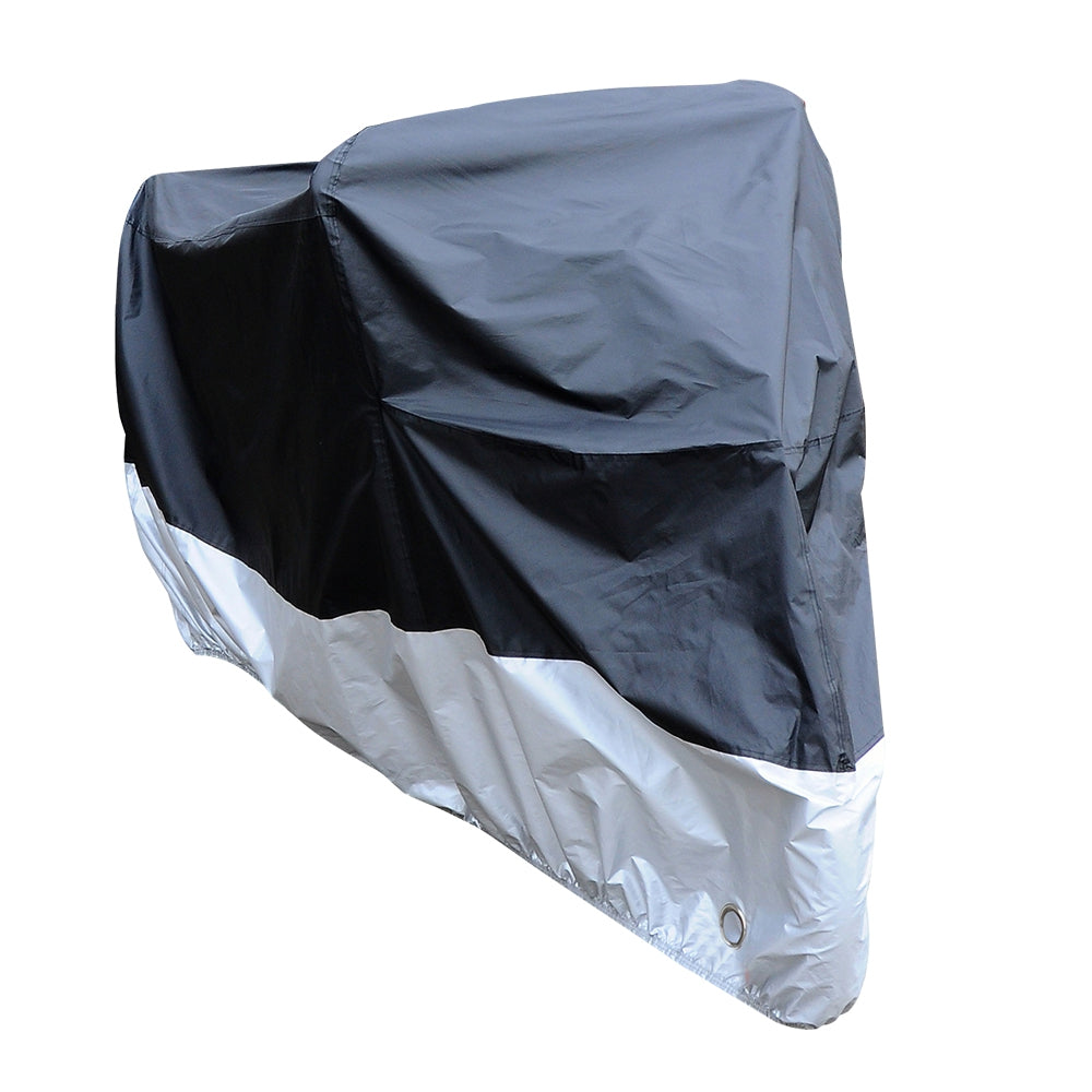 Water Resistant Sun-proof Motorcycle Cover SILVER L Hand Tools
