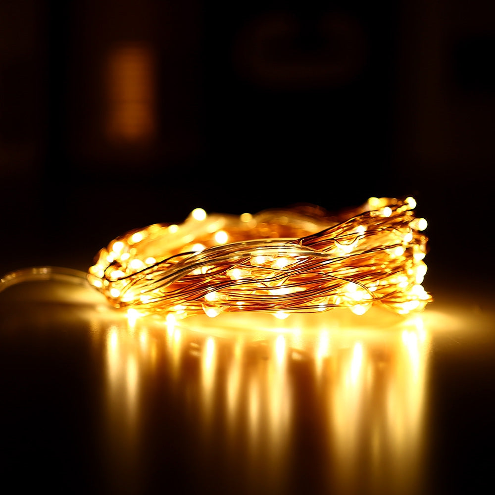 KPSSDD 10m 100-LED USB Light Strip for Decoration