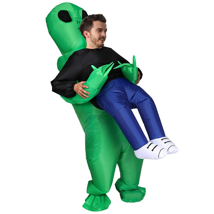 Inflatable Pick up Alien Costumes Cosplay Party Prop Toy KELLY GREEN Other Novelty & Gag Toys