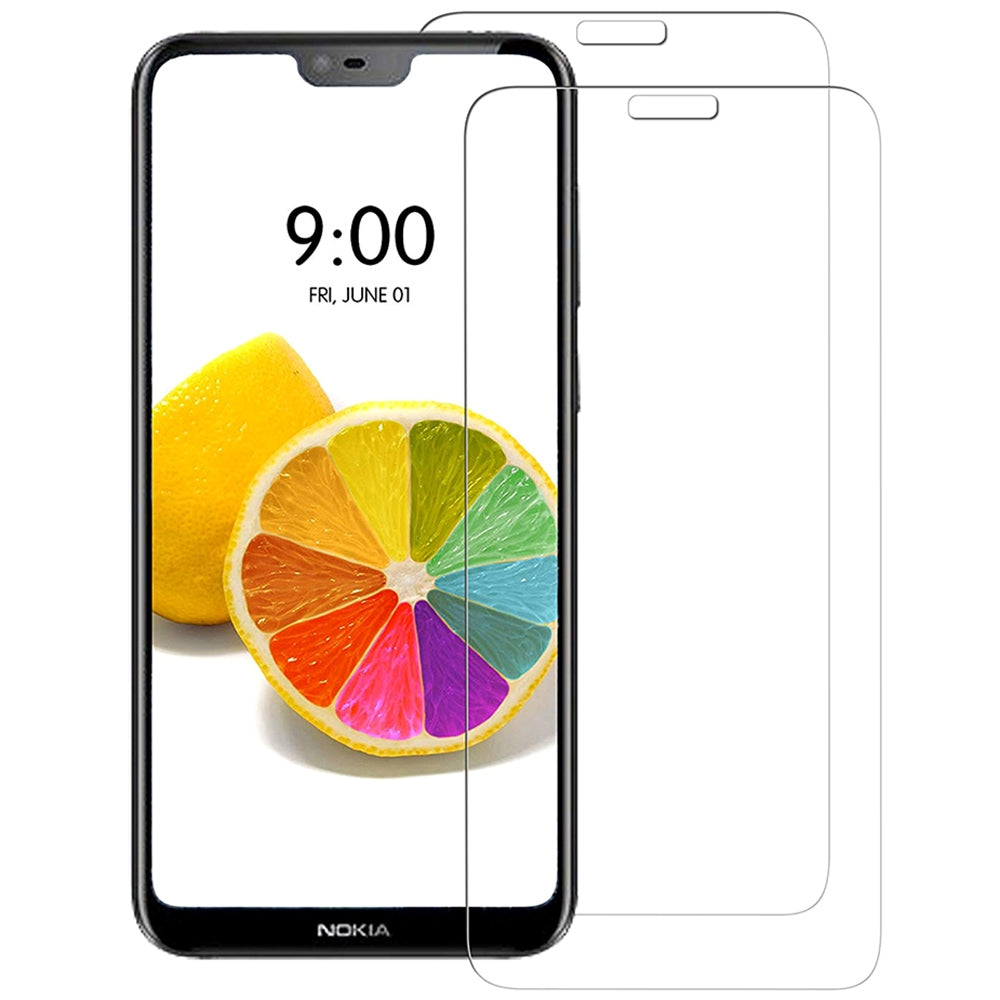 Naxtop Tempered Glass Screen Protector for Nokia 6.1 Plus / X6
