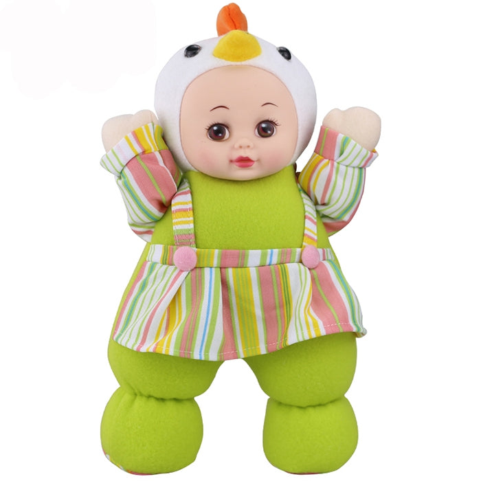 Interactive Sleep Appease Plush Baby Doll Toy Birthday Christmas Gift PISTACHIO GREEN Dolls