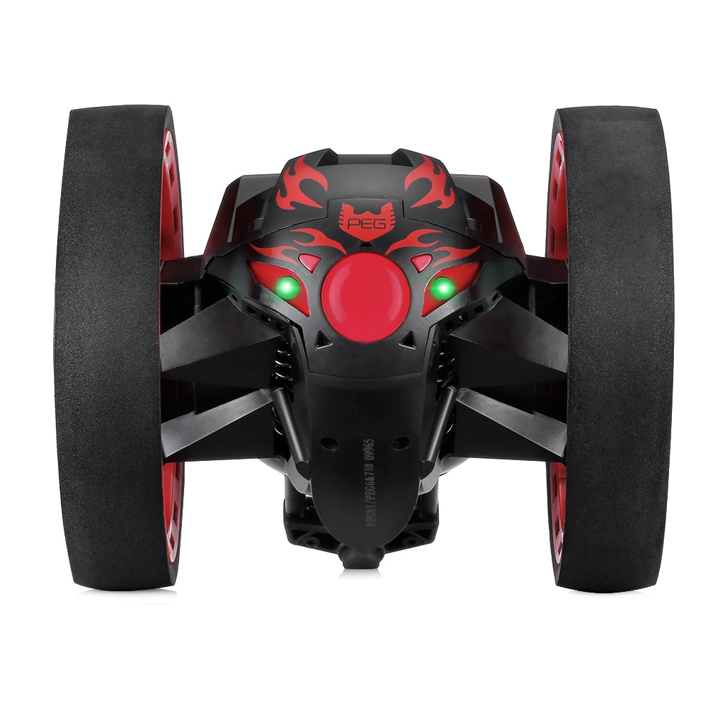 Paierge PEG - 81 2.4GHz Wireless Bounce Car for Kids BLACK RC Cars