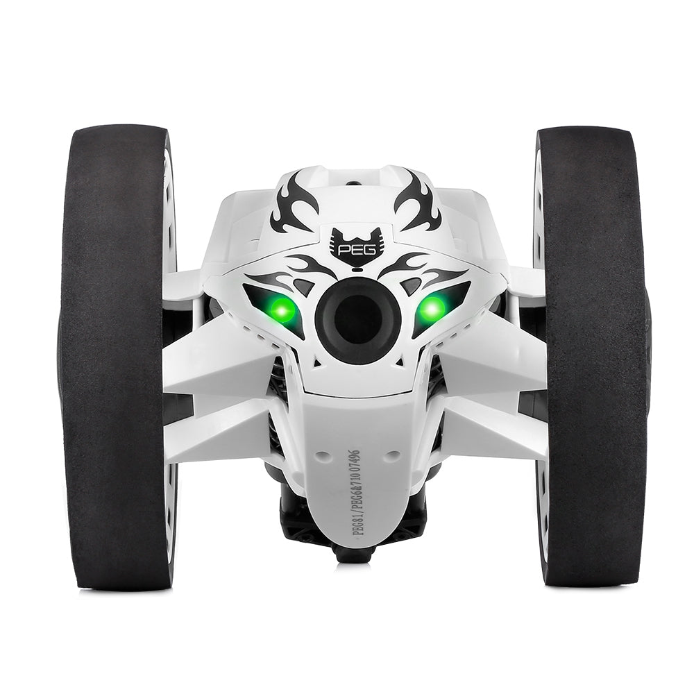 Paierge PEG - 81 2.4GHz Wireless Bounce Car for Kids WHITE RC Cars