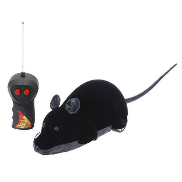 Simulation Mouse RC Animal Model Prank Child Toy BLACK Other RC Toys