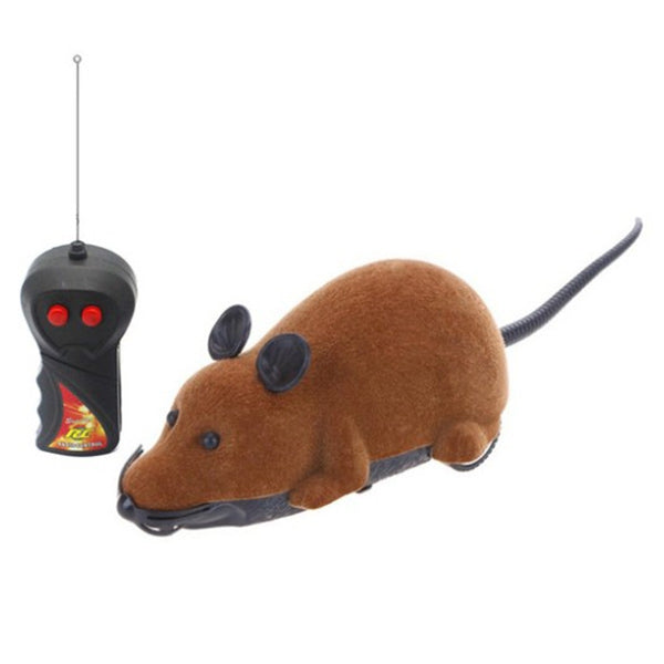 Simulation Mouse RC Animal Model Prank Child Toy BROWN Other RC Toys