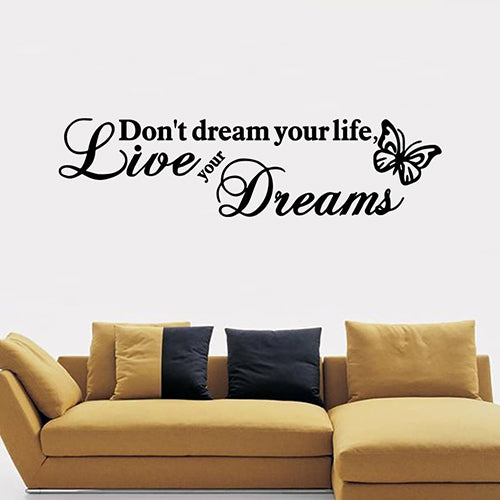 DX015 Bedroom Living Room Removable Wall Sticker