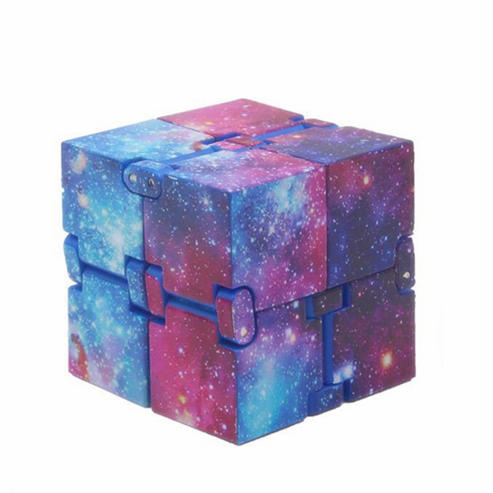 Creative Starry Sky Infinity Magic Cube Adults Stress Relief Kids Toys Gift MULTI Magic Cubes