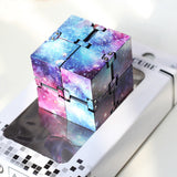 Creative Starry Sky Infinity Magic Cube Adults Stress Relief Kids Toys Gift