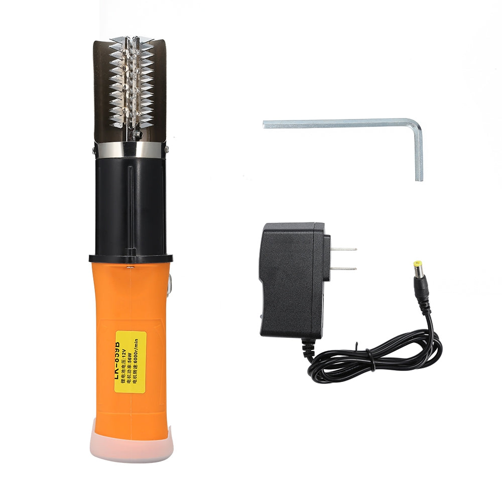 LK-859B 12V Rechargeable Waterproof Electric Fish Scale Brush