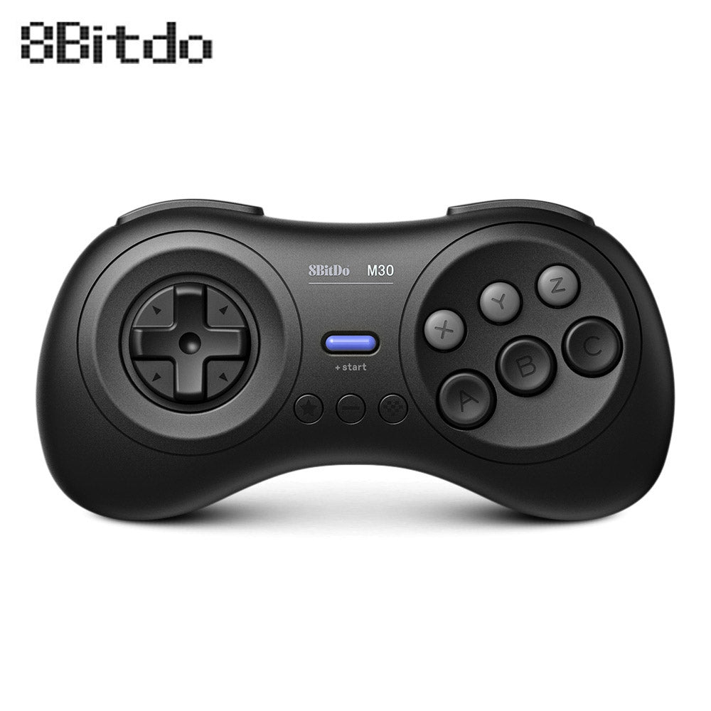 8Bitdo M30 Bluetooth Controller for Switch PC MAC Steam BLACK Game Controllers