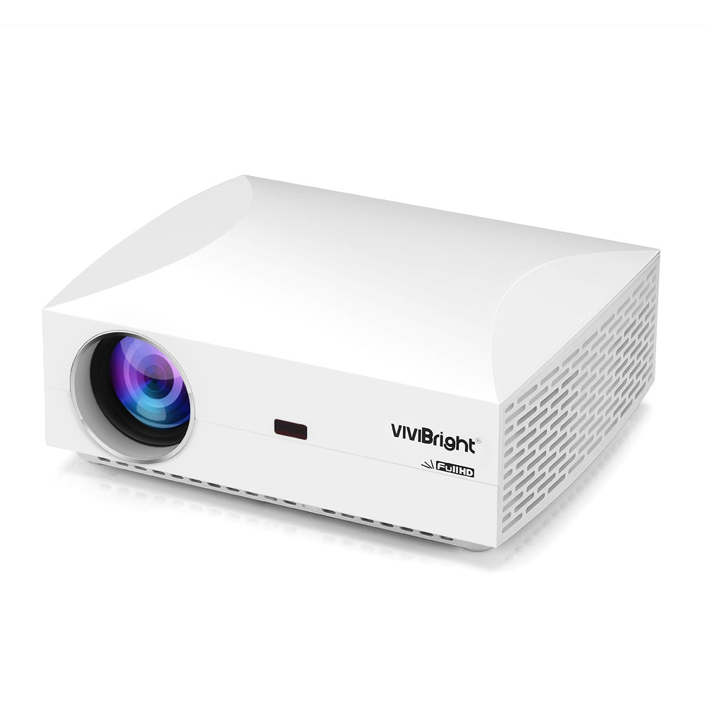 VIVIBRIGHT F30 LCD Projector Home Entertainment Commercial FHD 1920 x 1080P 4200 Lumens BLACK EU PLUG Projectors