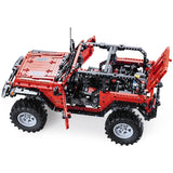 CADA C61006 Adventurer Double-door Vehicle RC Block Toy 1941PCS