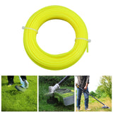 2.4mm 15m Nylon Trimmer Line Lawn Mower Rope Garden Tools Parts