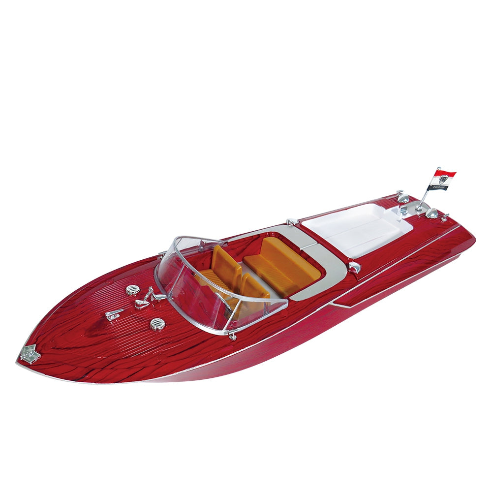 Flytec V001 2.4G High Speed Remote Control Boat Navigation Model Toy LAVA RED RC Boats