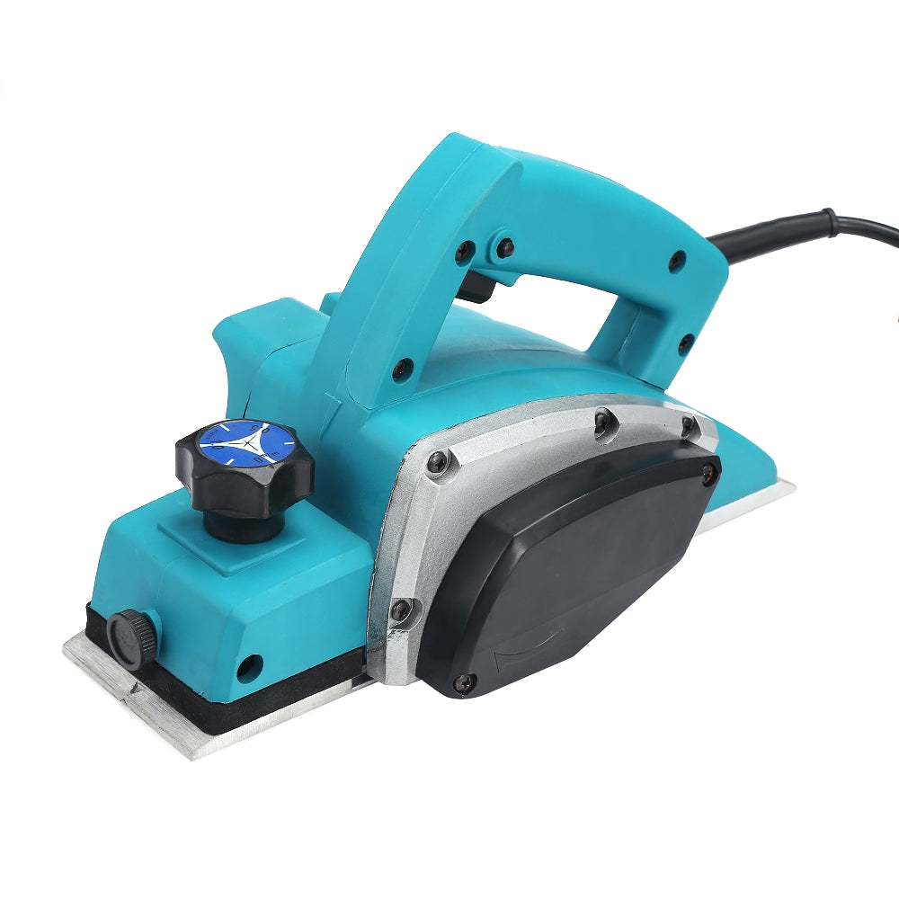 1000W Electric Handheld Planer Powerful Woodworking File Tool Set BLUE EU PLUG Power Tools
