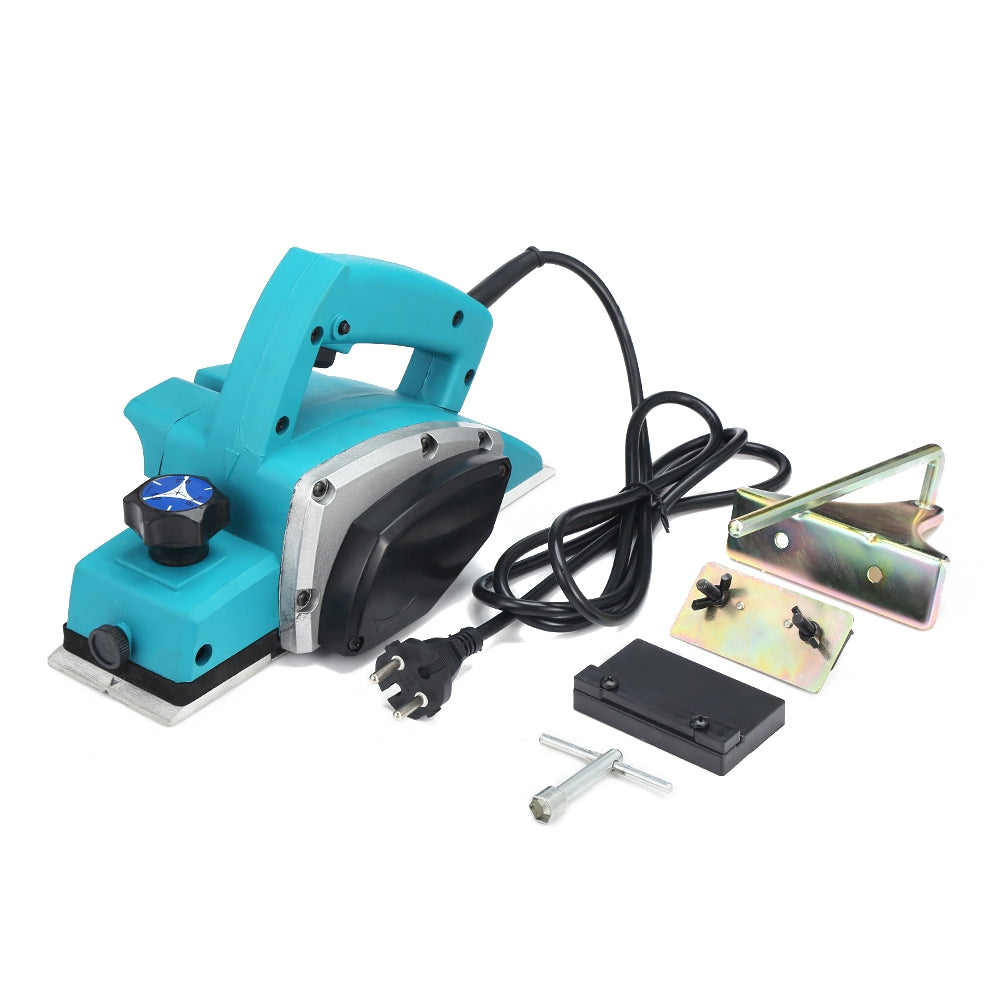 1000W Electric Handheld Planer Powerful Woodworking File Tool Set