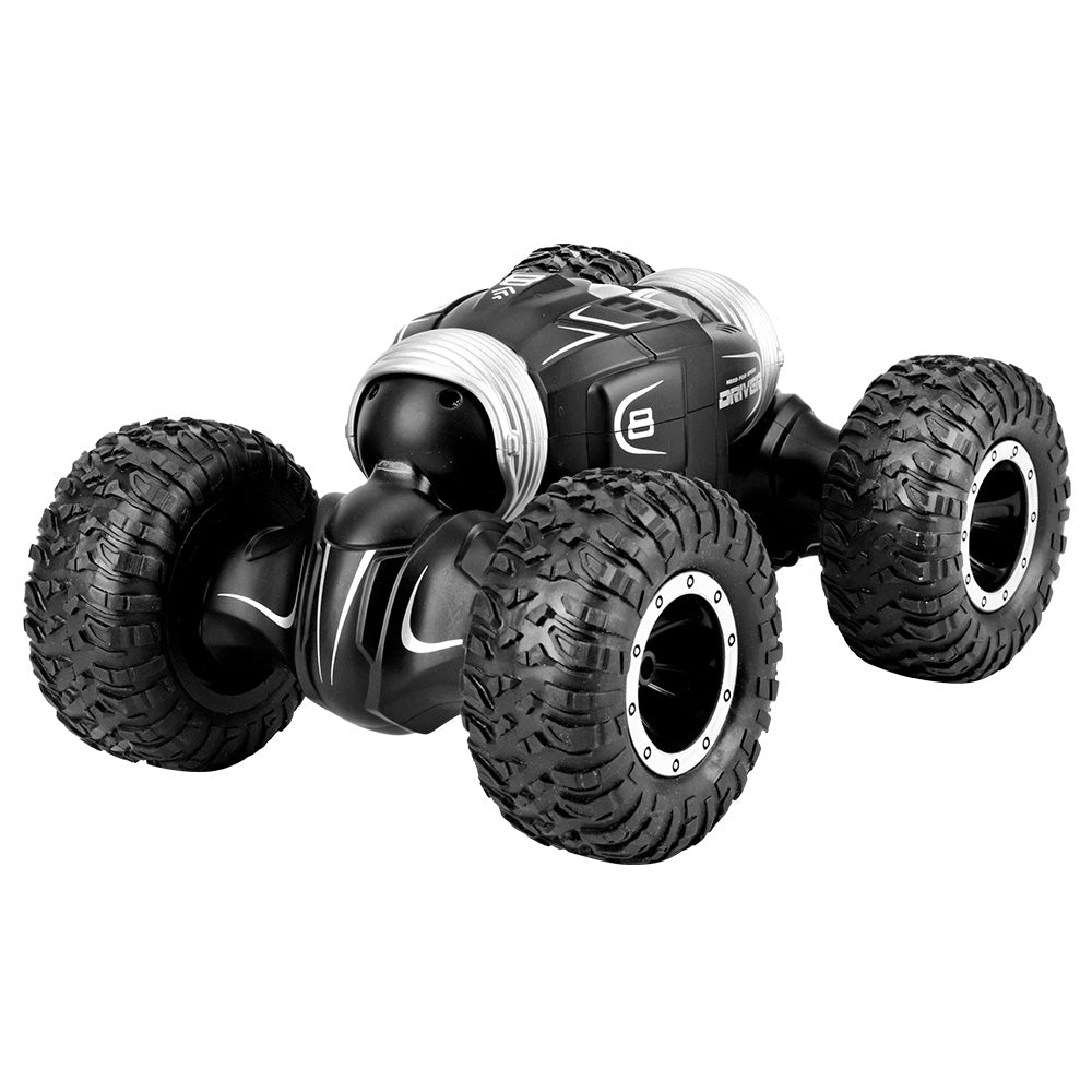 JJRC Q70 Twister Double-sided Flip Deformation Climbing RC Car - RTR ONE BATTERY BLACK RC Cars