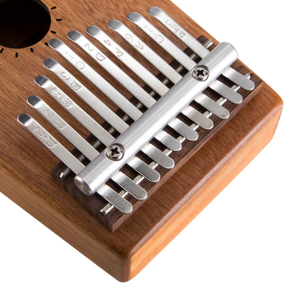 HK01 10 Tone Wooden Kalimba Thumb Piano Portable Finger Musical Instrument