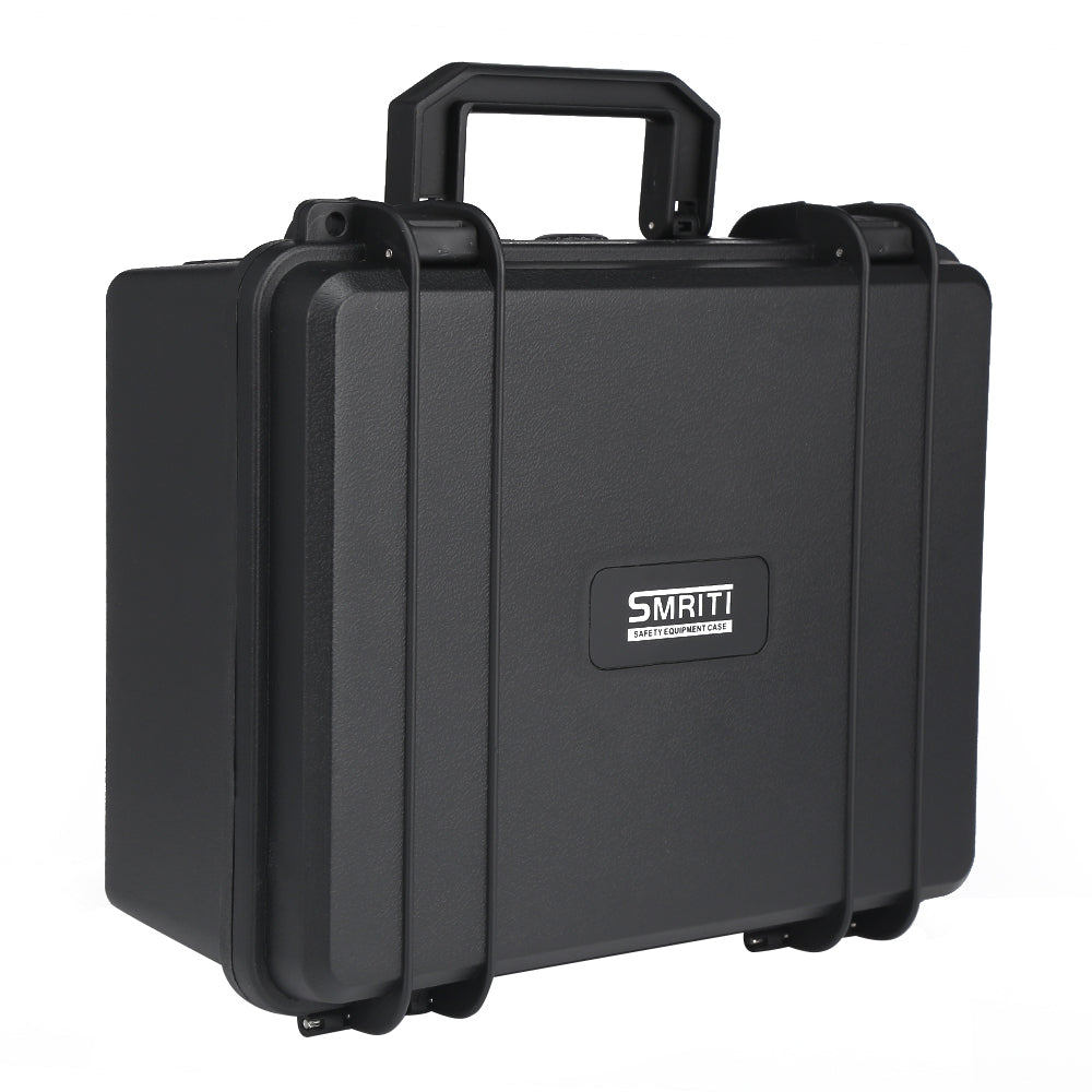 S - 2620 Plastic Thickened Portable Hardware Carrying Case BLACK Hand Tools