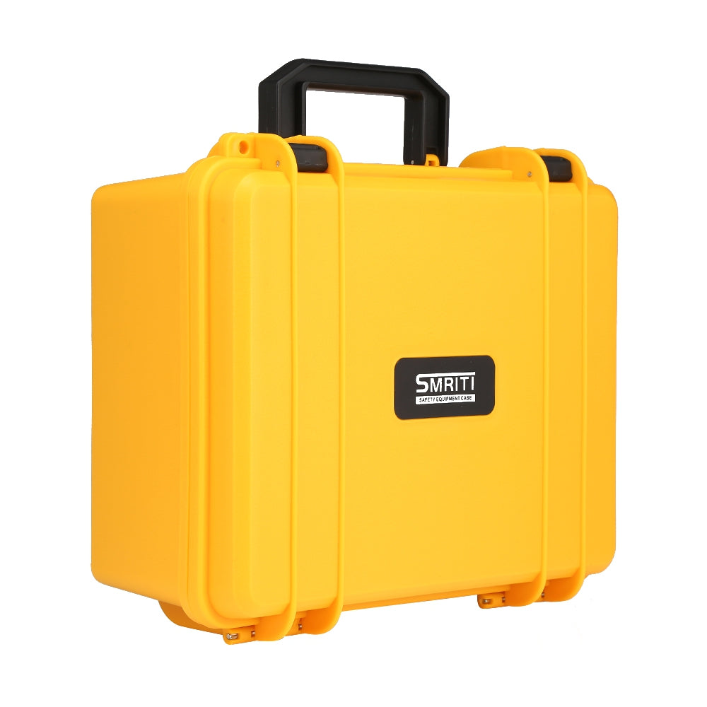 S - 2620 Plastic Thickened Portable Hardware Carrying Case YELLOW Hand Tools