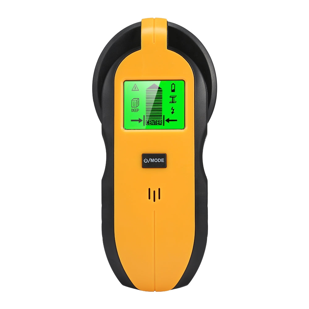 TH250 Wall Stud Center Finder Wood Metal AC Live Wire Scanner Detector GOLDEN BROWN Measuring Tools