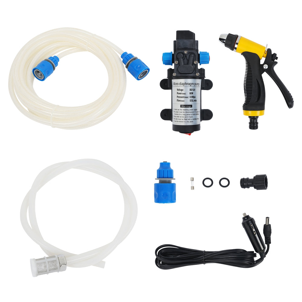 12V Car Washer Gun Pump High Pressure Cleaner Washing Machine Hand Electric Cleaning Wash Device MULTI Power Tools