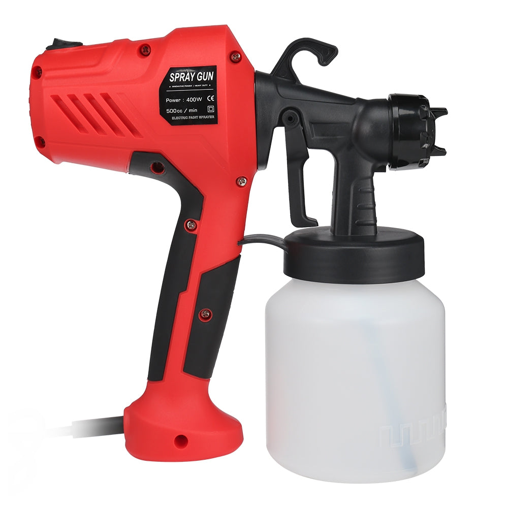 GT - 006 - 350 800ml 400W Container Electric Paint Sprayer Gun Three Nozzle Pattern