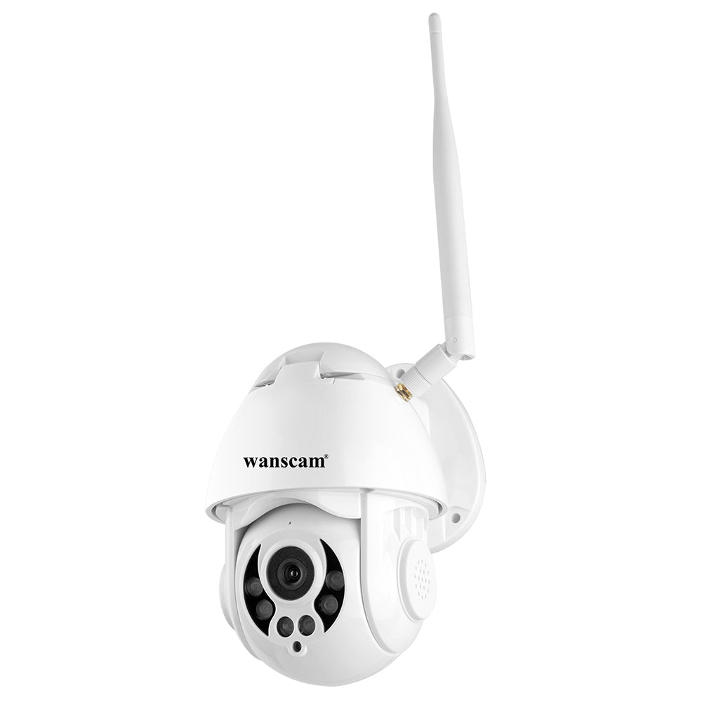 Wanscam K38D 4x Zoom 1080P Infrared Night Vision 15 Meters Outdoor Waterproof 2.5 Inch Network Camera WHITE EU PLUG Surveillance Cameras