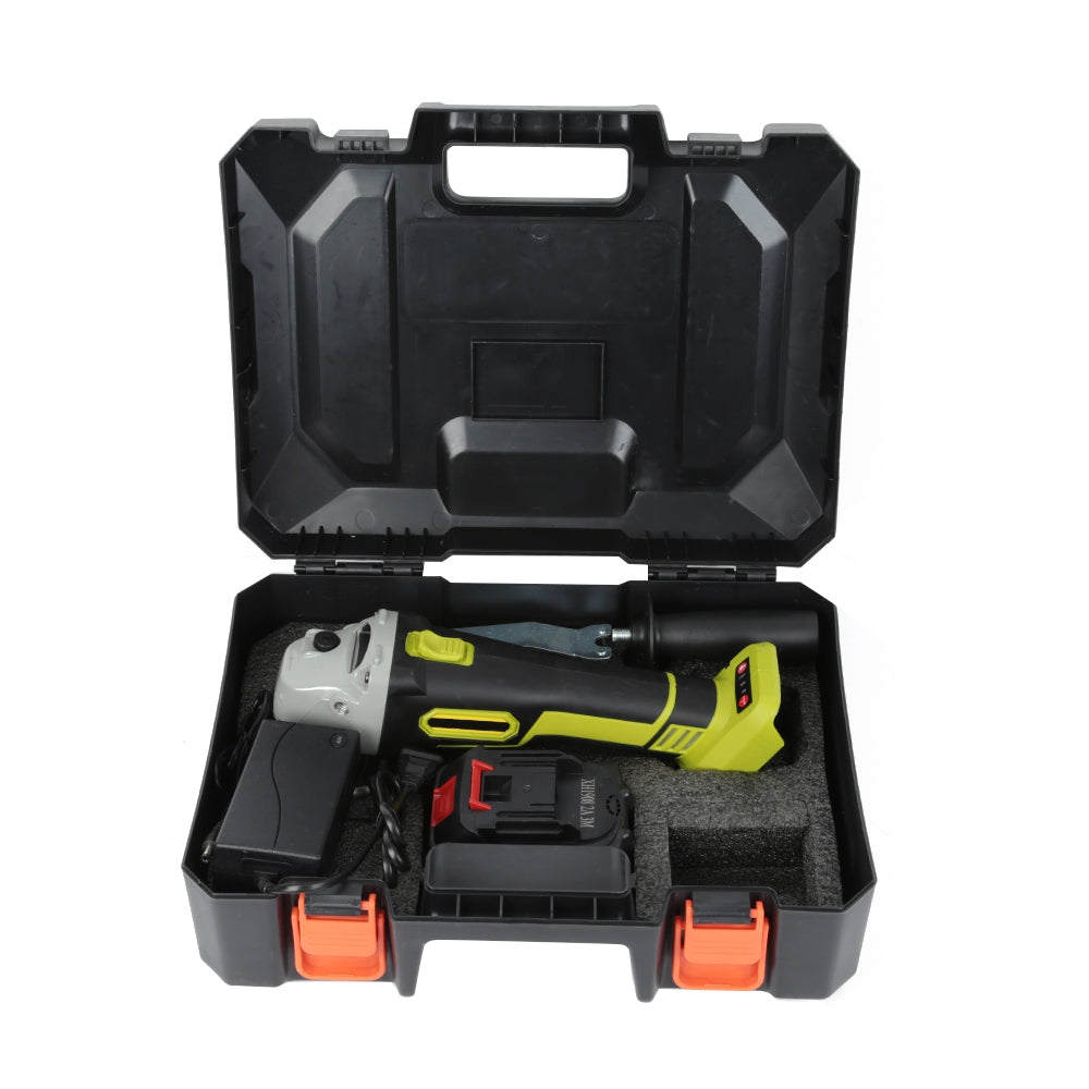68V Cordless Angle Grinder with Storage Box MULTI WITH TWO BATTERY Power Tools