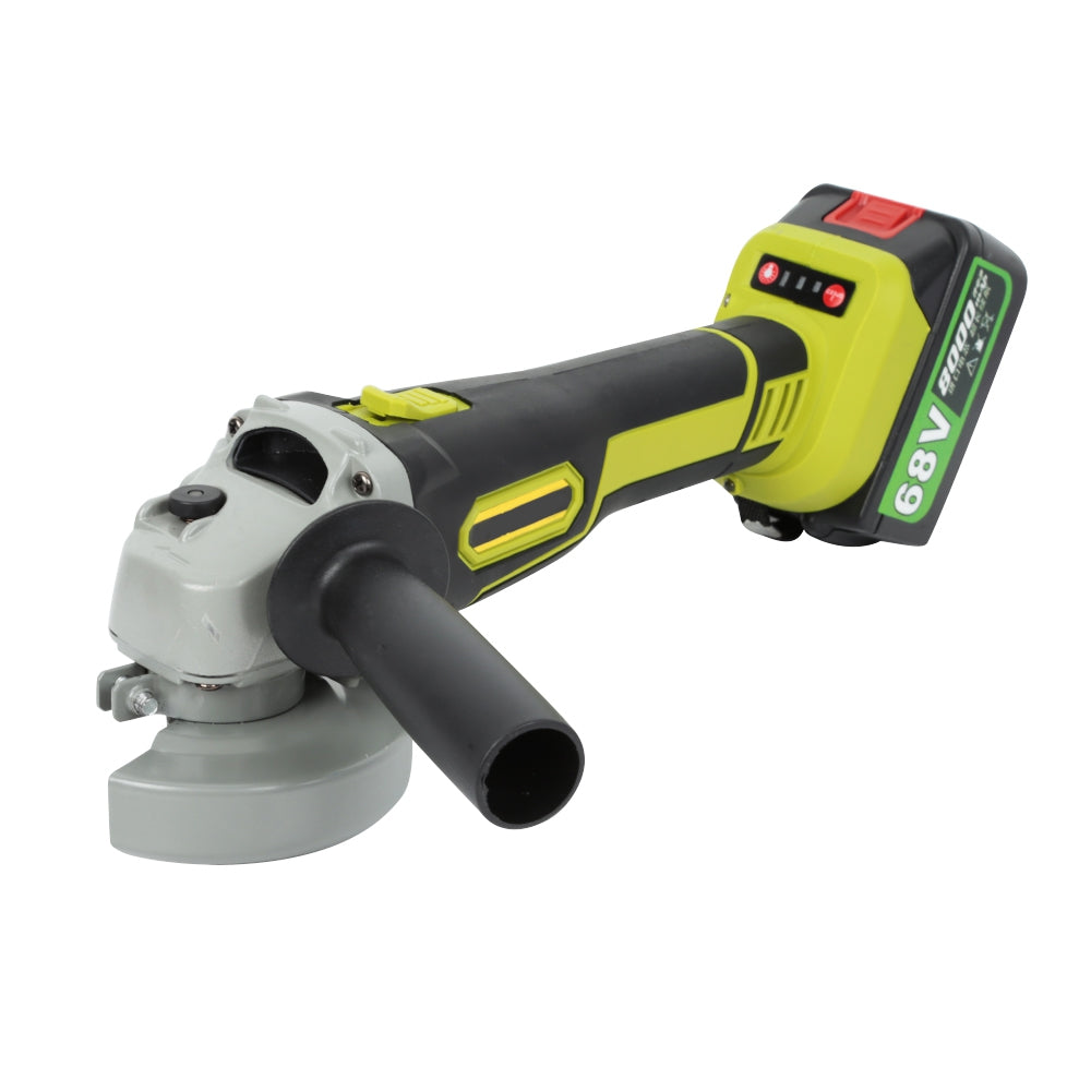 68V Cordless Angle Grinder with Storage Box