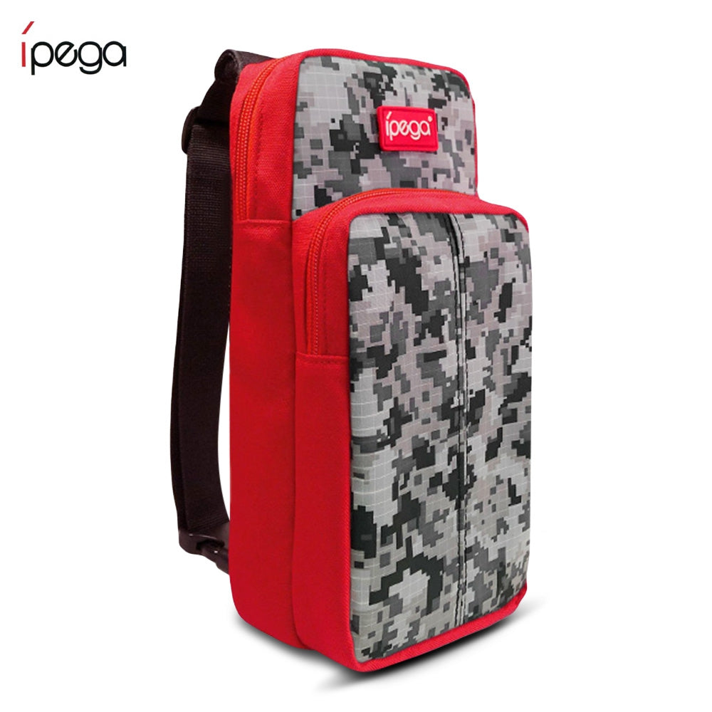 iPEGA PG - SL011R Jungle Warrior Crossbody Bag for Switch Lite RED Other Video Game Accessories