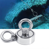 Super Powerful Neodymium Fishing Magnet with 2 Rings