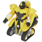 Q033 2.4G Remote Control Assembled Robot DIY Puzzle Educational Toys 38pcs YELLOW RC Cars
